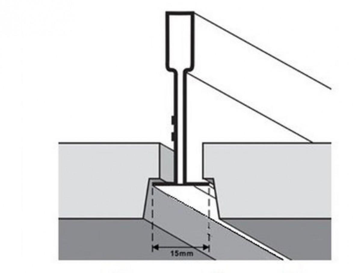 T-Bar Grid Ceiling Tile Divider 15mm