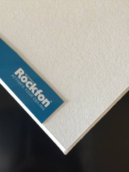 595 X 595 Rockfon Artic Tegular Edge Ceiling Tiles