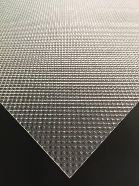 595 x 595 Clear Prismatic Diffuser