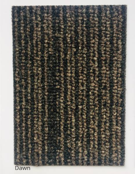 Atmosphere Dawn Black & Brown Carpet Colour Swatch