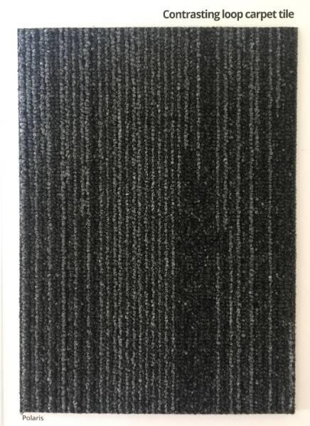 Aurora Sky Black Carpet Colour Swatch