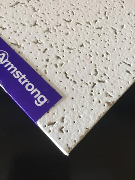 1195 X 595 Armstrong Cortega Square Edge Ceiling Tiles (BP9101)