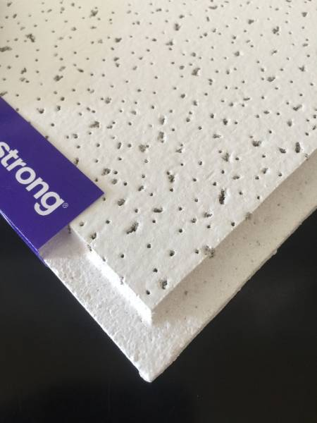 595 X 595 Tegular Fine Fissured Ceiling Tiles (BP9122)