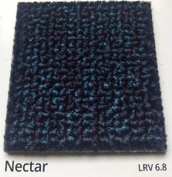 Dahlia Nectar Blue Carpet Colour Swatch