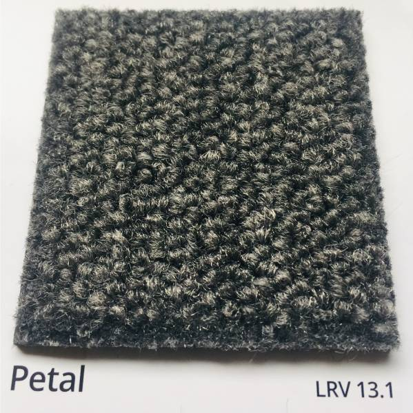 Dahlia Petal Grey Carpet Colour Swatch