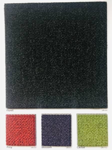 Dahlia Posy Carpet Colour Swatch