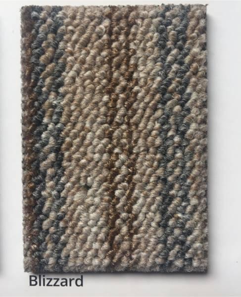 Skyscape Blizzard Multi Coloured Stripe Carpet Colour Swatch