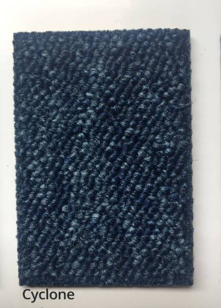 Skyscape Cyclone Blue Carpet Colour Swatch
