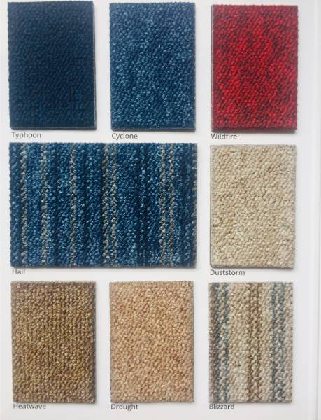 Carpet Colour Swatch